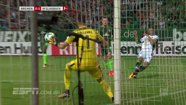 Assista aos melhores momentos da vitória do Borussia M'Gladbach sobre o Werder Bremen por 2 a 0!