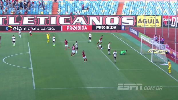 Brasileiro: Gol de Atlético-GO 1 x 0 Coritiba