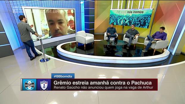 Torcedor do Grêmio nos Emirados Árabes fala da expectativa de estreia e destaca: 'A força é o coletivo'