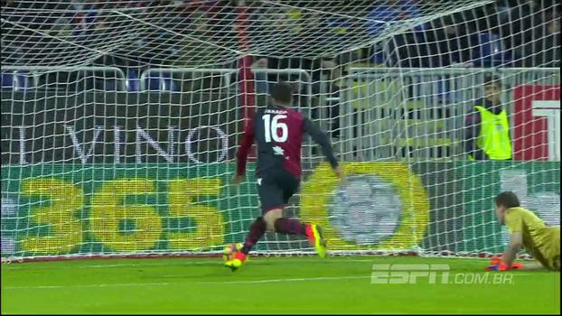 Sampdoria abre 2 a 0, mas goleiro comete falha bisonha e o Cagliari consegue empatar; VEJA