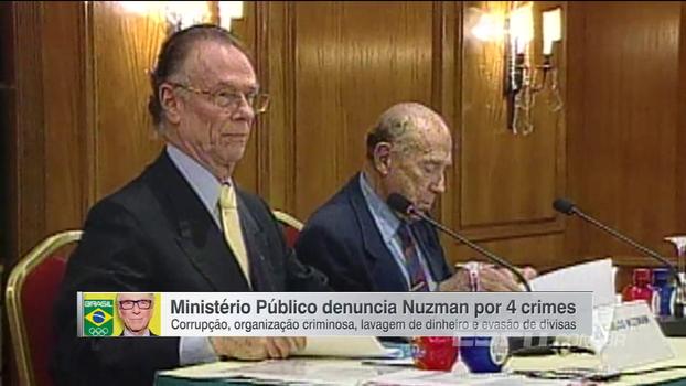 Nuzman é denunciado por corrupção, organização criminosa e mais; MP pede R$ 1 bilhão por danos morais