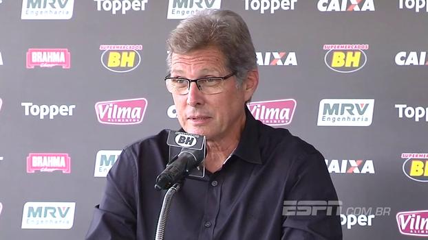 Oswaldo de Oliveira diz que dirigir o Atlético-MG é 'realização de um sonho'