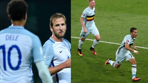 De Bruyne, Kane, Hazard... veja lances dos craques da Premier League que medem forças em Bélgica x Inglaterra na Copa