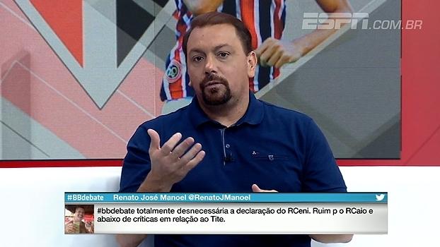 Para Alê, Rogério Ceni precisa ser 'melhor orientado' antes de dar entrevistas