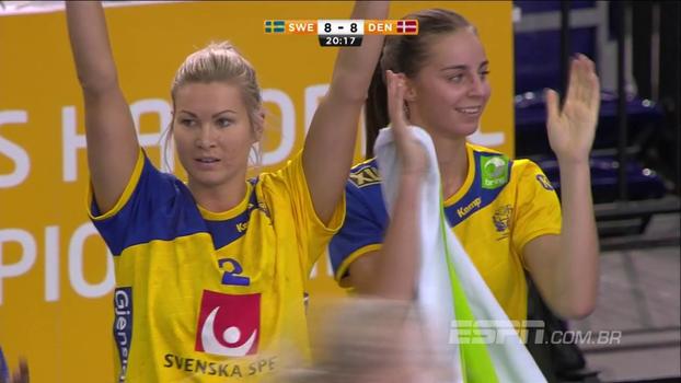 Suécia vence Dinamarca e vai à semifinal do Mundial de handebol