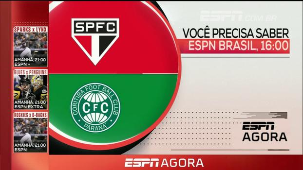 Semifinal do Brasileirão sub-20, MLB e Bola da Vez ao vivo com Alexandre Kalil; veja os destaques da programação desta teça na ESPN