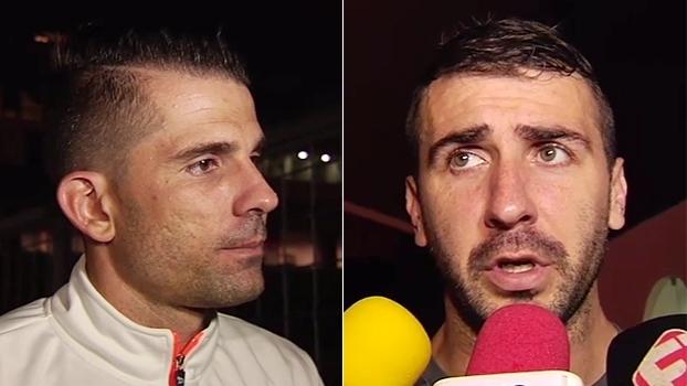 Para Victor, triunfo teve a cara do Atlético-MG; Pratto: 'Cumpri com meu trabalho'