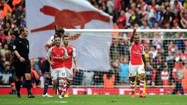 Assista aos melhores momentos da vitória do Arsenal sobre o West Bromwich por 4 a 1!