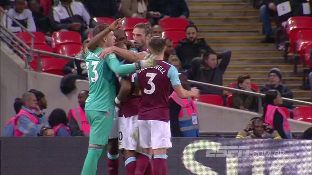 Veja os melhores momentos de Tottenham 2 x 3 West Ham