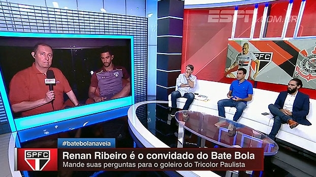 Renan Ribeiro cita drama pessoal e se vê pronto para assumir o gol do São Paulo