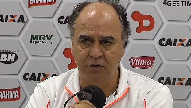 Marcelo Oliveira 'culpa' ausências, critica arbitragem e promete: 'Vamos chegar'
