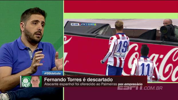 Flamengo e Palmeiras descartam negócio por Fernando Torres