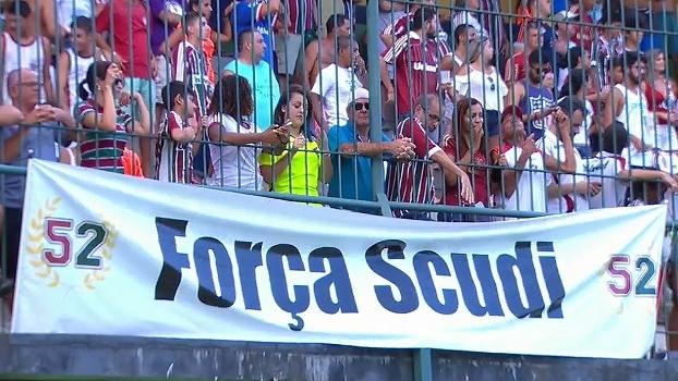 Débora Gares lembra de Pedro Scudi, prova de que o cenário de violência no futebol ainda é o mesmo