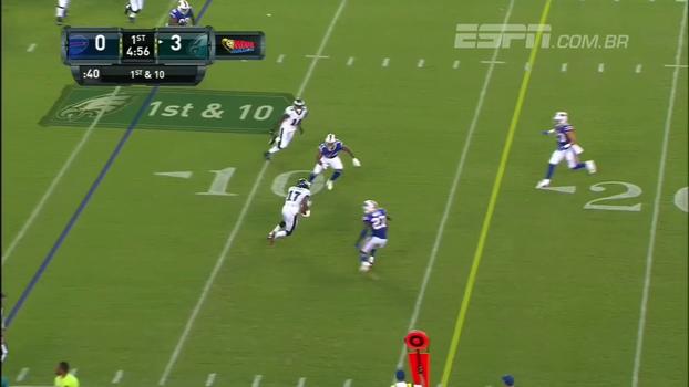 Pela pré-temporada da NFL, Eagles vencem os Bills; veja os lances