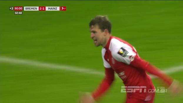 Perdendo por 2 a 0, Mainz busca empate fora de casa diante do Werder Bremen