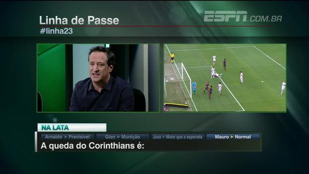 Gian: 'A queda do Corinthians acaba servindo de munição para os adversários'