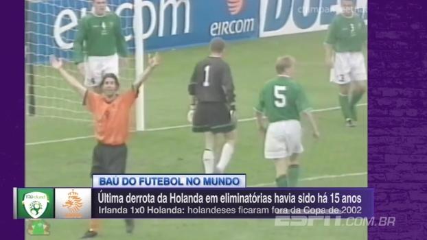 Última derrota em eliminatórias da Holanda havia sido em 2002; relembre
