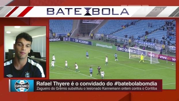 Zagueiro do Grêmio descreve Renato Gaúcho como 'parceiro do atleta' e avalia time no Brasileiro