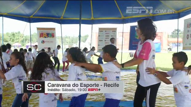 Recife recebeu Caravana do Esporte e das Artes em setembro; veja como foi