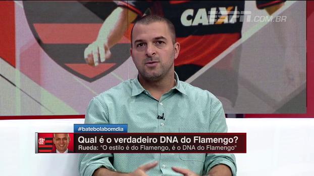 Zé Elias analisa o 'DNA do Flamengo' citado por Rueda