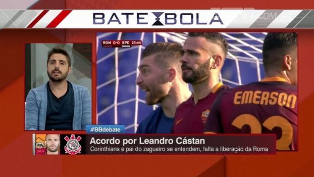 Nicola fala sobre possível retorno de Castán ao Corinthians