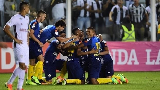 Brasileiro: Gols de Santos 2 x 1 Fluminense