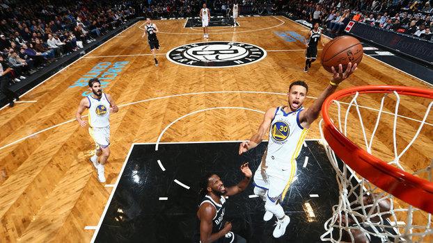 Veja os melhores momentos da vitória dos Warriors sobre os Nets por 118 a 111