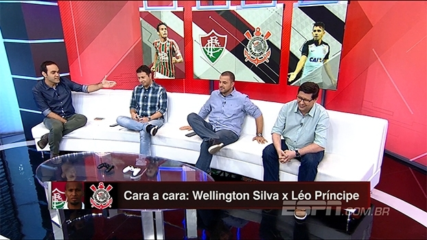 Cara a cara: 'Bate Bola Bom Dia' monta seleção de Fluminense e Corinthians