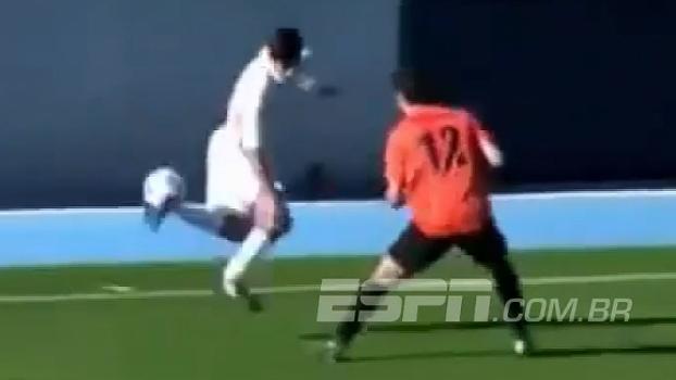 Tal pai, tal filho! Jogando pelas categorias de base do Real, filho de Zidane marca golaço na Espanha