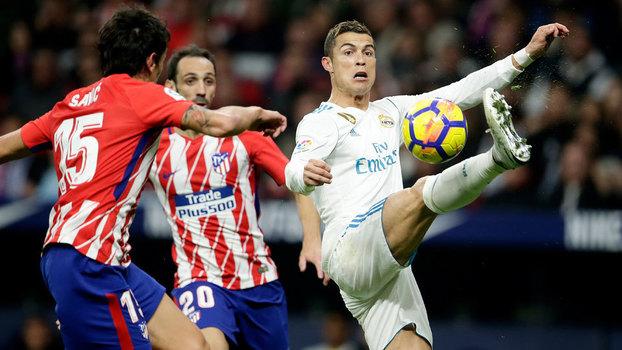 LaLiga: Melhores momentos de Atlético de Madri 0 x 0 Real Madrid