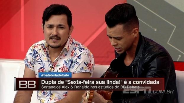 Dupla De 'Sexta-feira, Sua Linda!', Alex & Ronaldo Cantam