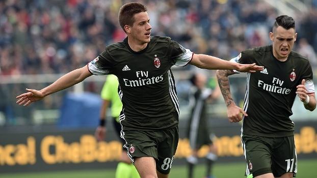 Italiano: Gols de Pescara 1 x 1 Milan