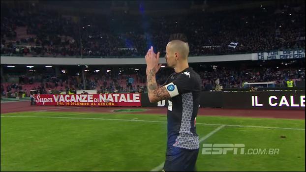 De arrepiar! Veja o show que a torcida do Napoli deu após ser derrotada em casa pela Juventus