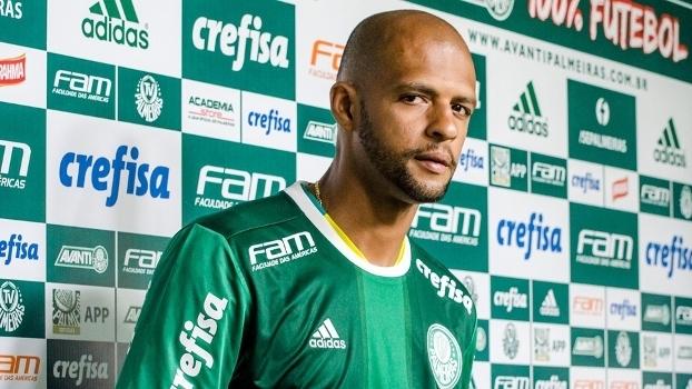 Felipe Melo, o sincero: veja o resumo da coletiva do volante no Palmeiras