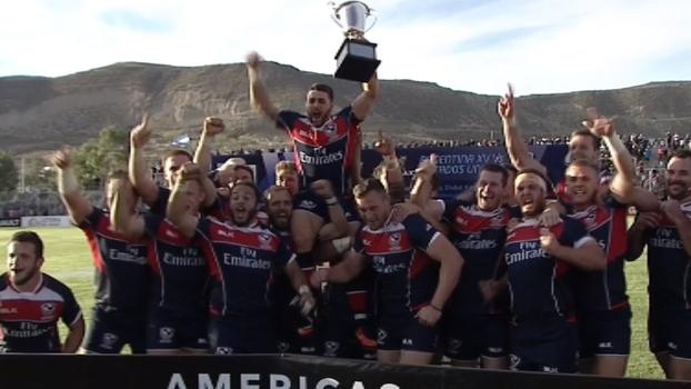 Com tempo estourado, EUA buscam empate com Argentina e são campeões do Americas Rugby Championship