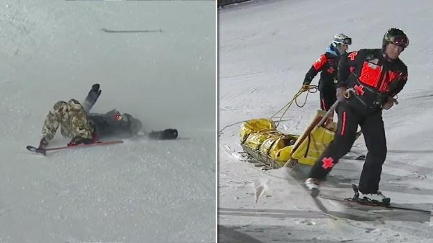 Suíço sofre queda feia no Ski Big Air dos X Games Aspen, 'apaga' e vai direto para o hospital