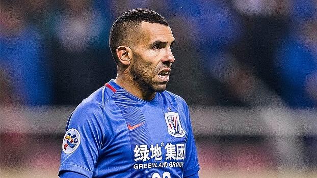 No Campeonato Chinês, Tevez marca seu segundo gol na temporada