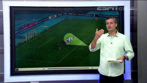 Sálvio concorda com pênalti a favor do Grêmio: 'Foi com a mão'