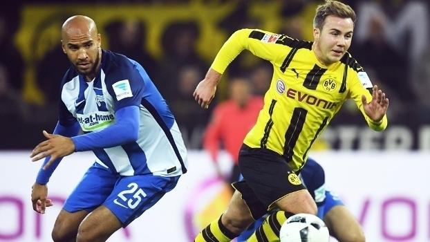 Alemão: Gols de Borussia Dortmund 1 x 1 Hertha Berlin