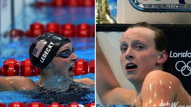 Você sabia? A nadadora Katie Ledecky está invicta há 5 anos em competições internacionais