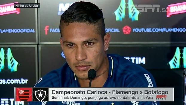 Guerrero ressalta a importância do clássico contra o Botafogo   Queremos  sair campões  c03424501e917