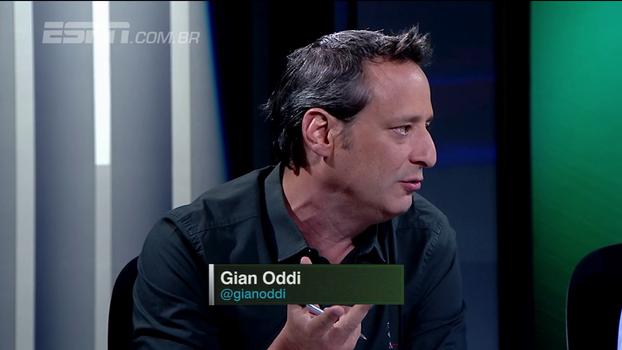 Gian Oddi diz que o Palmeiras decepciona mais que o Flamengo em 2017