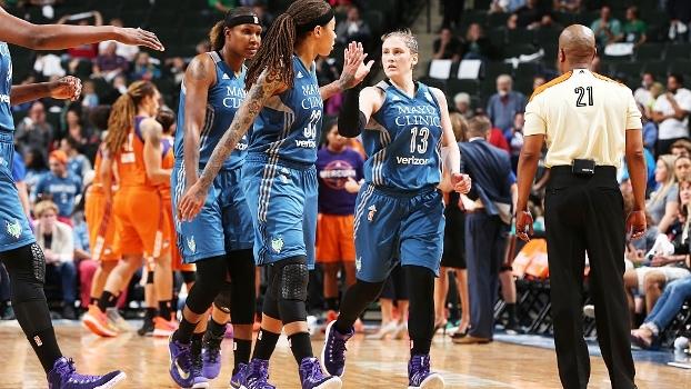 Mercury acorda tarde, Lynx vence e abre 2 a 0 na semi da WNBA
