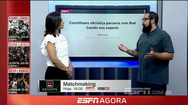Felipe Felix destrincha parceria entre Corinthians e Red Canids e analisa a entrada do time no mundo dos eSports
