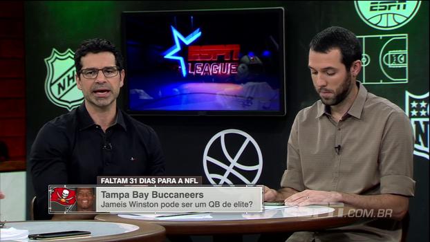 Paulo Antunes se diz otimista em relação ao Tampa Bay Buccaneers; Gustavo Hofman destaca OJ Howard