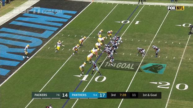 ASSISTA aos melhores momentos de Green Bay Packers 24 x 31 Carolina Panthers