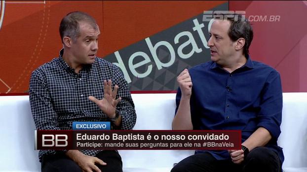 Eduardo Baptista explica por que correu risco e 'não acatou departamentos' no Atlético-PR