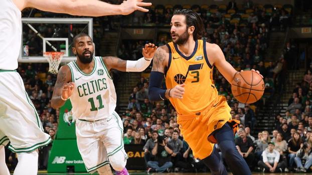 Em noite marcada pelo frio de Boston e lesão forte de Gobert, Utah Jazz supera 33 pontos de Kyrie e vence Celtics