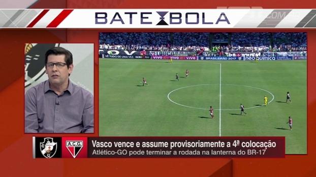 Celso Unzelte destaca bom momento do Vasco no Brasileiro