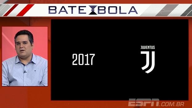 Bertozzi opina sobre novo logo da Juventus: 'Não achei bonito, mas todo clube muda de escudo'